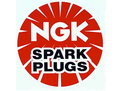 NGK Logo at Gunners Garage