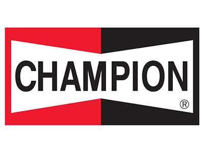 Champion Logo at Gunners Garage
